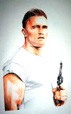 Arnold Schwarzenegger by Colorfarma